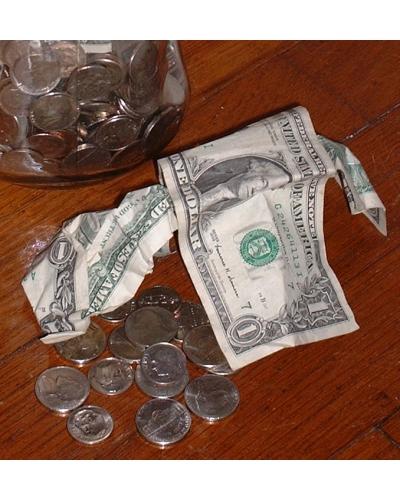 Dollar Bills & Coins
